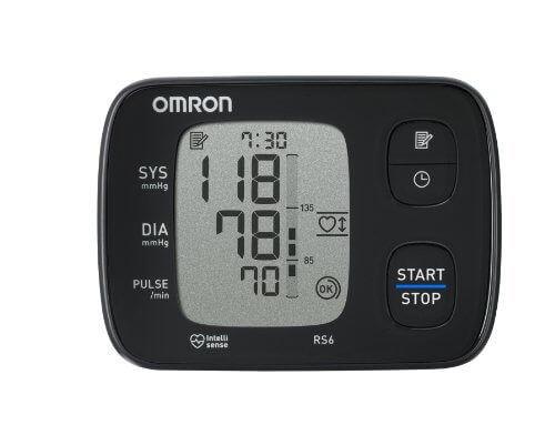 omron rs6 handgelenk blutdruckmessgeraet - Platz 2 - Omron RS6 - Handgelenk